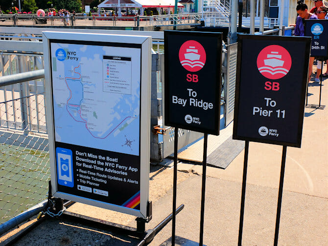 NYC Ferry in New York - Routes