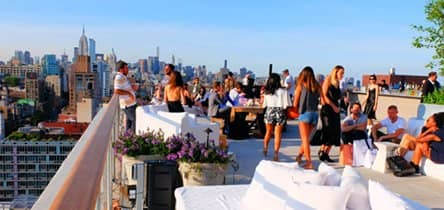 Rooftop Bar Experience