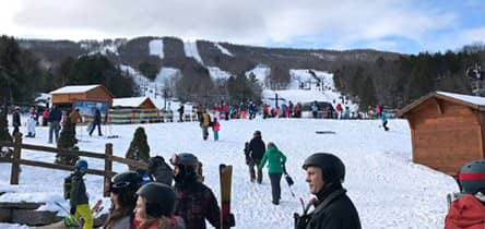 Ski trips near New York