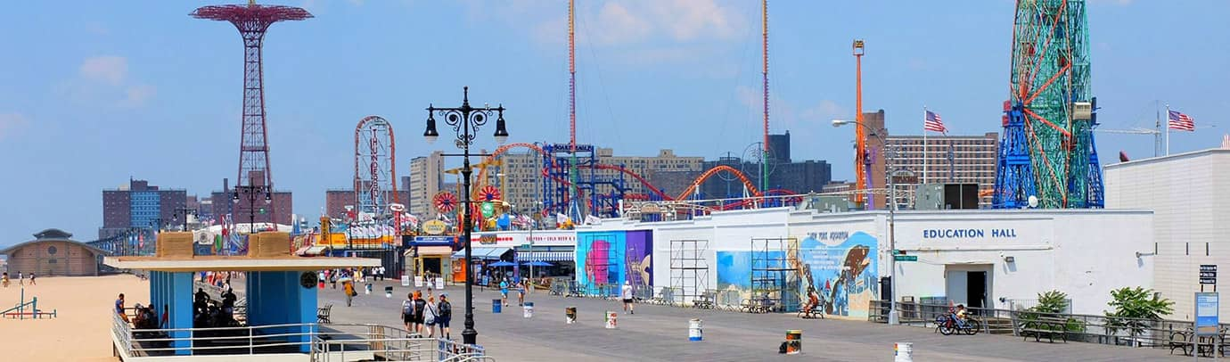 Destination estivale : Coney Island