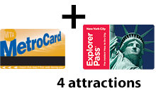 Unlimited + 4 attractions