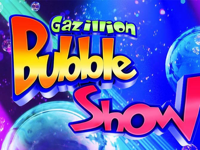 Gazillion Bubble Show on Broadway Tickets