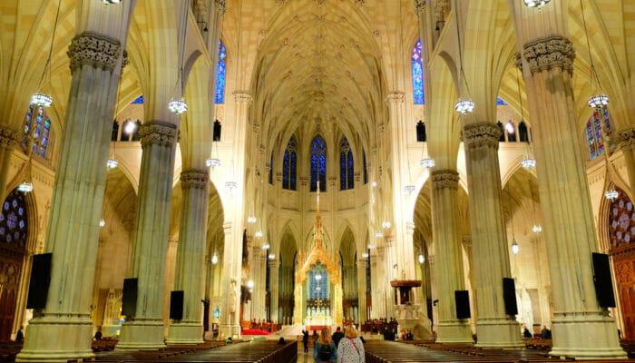 St. Patrick's Cathedral inside